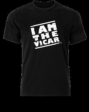T-Shirt - I Am The Vicar LARGE