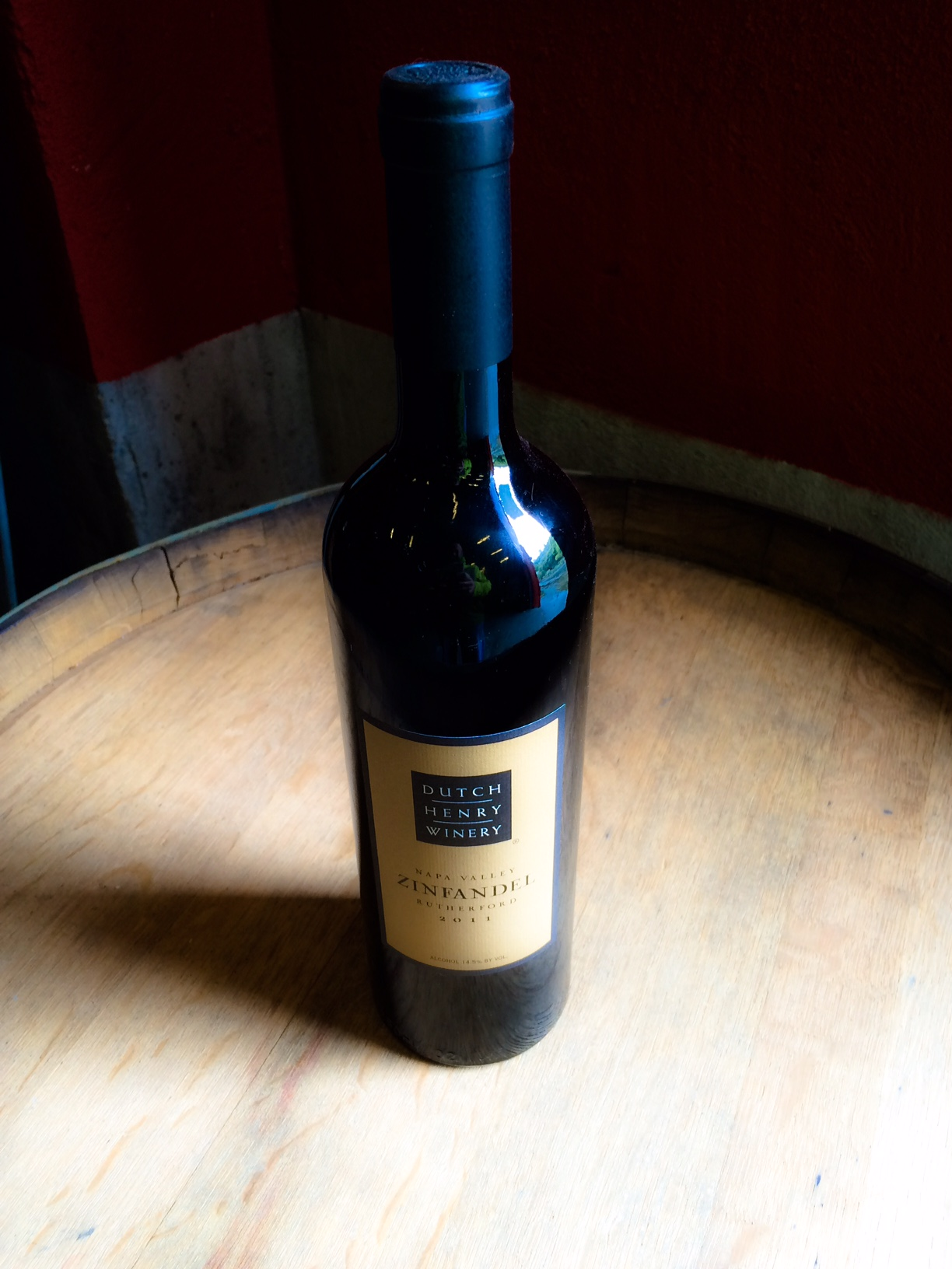 "2014 Dutch Henry ""Rutherford"" Zinfandel MAIN"