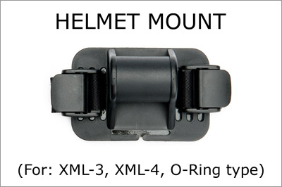 Helmet mount s for Strap and O-ring mounted lights MAIN