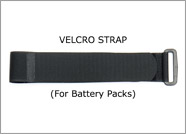 Velcro Strap for batteries and AA battery bag THUMBNAIL