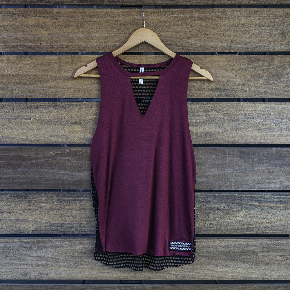 Women's Choker Tank MAIN