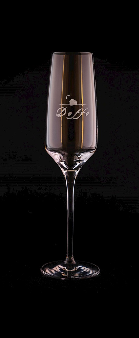 Stemware-Doffo Crystal Champagne Flute THUMBNAIL