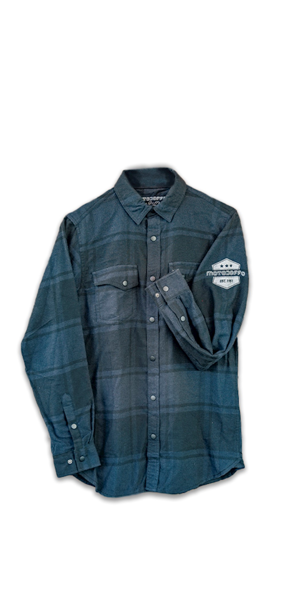 Long Sleeve Black Plaid Flannel THUMBNAIL