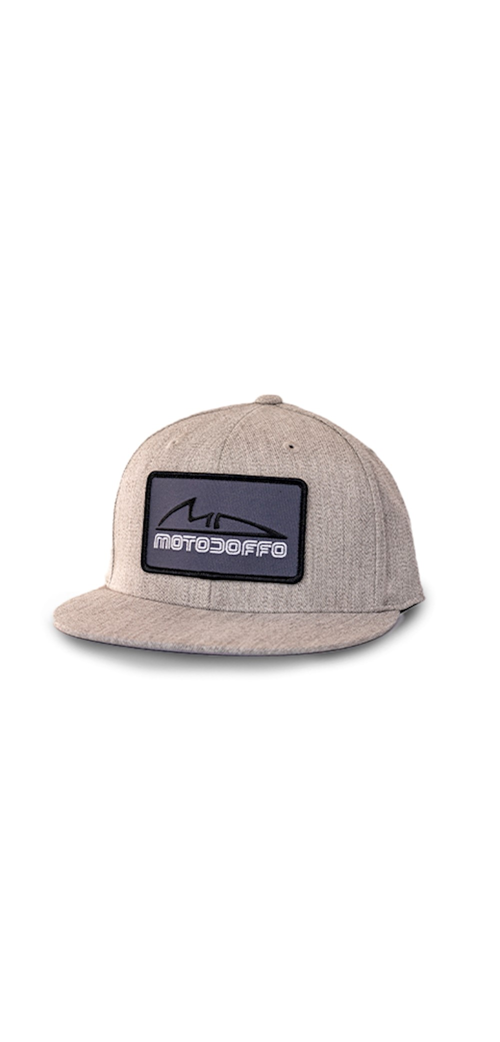 MotoDoffo Heather Fitted Hat THUMBNAIL
