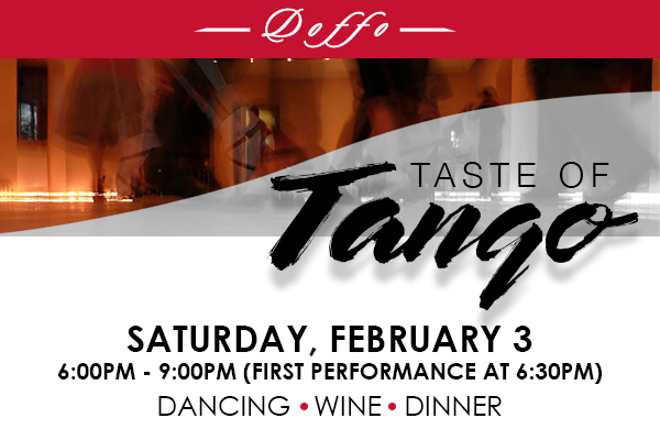 Taste of Tango Pick Up Party