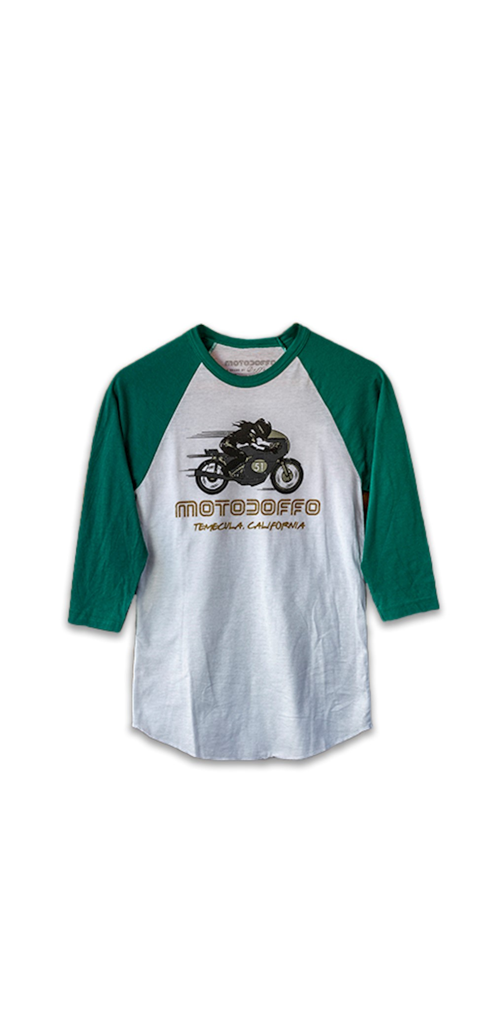 Women's 3/4 Sleeve Female Rider THUMBNAIL