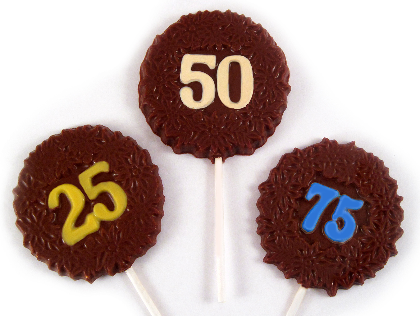 Anniversary Lollipop Set of 25