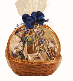 Gift, Business to Business Gift, VIP Gifts. Chanuukah basket THUMBNAIL