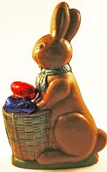 Semi-solid Chocolate Easter Bunny MAIN