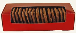 Chocolate Covered Graham Crackers in Holiday Box MAIN