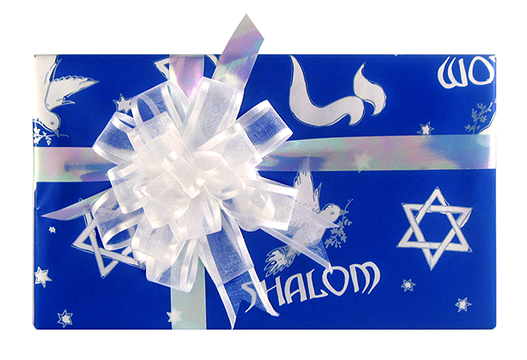 Deluxe Assortment Gift Wrap - Hanukkah THUMBNAIL