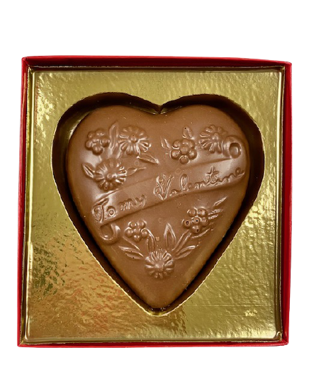 Solid, Swiss Chocolate Heart MAIN