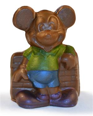 Hand painted solid chocolate Mickey MAIN