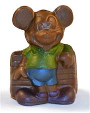 Hand painted solid chocolate Mickey