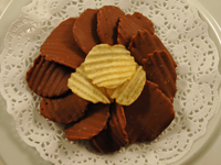 Chocolate Covered Potato Chips THUMBNAIL