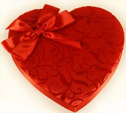 Beautiful, Large Valentine Heart with Elegant Design