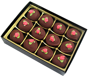 Raspberry Rose Truffles THUMBNAIL