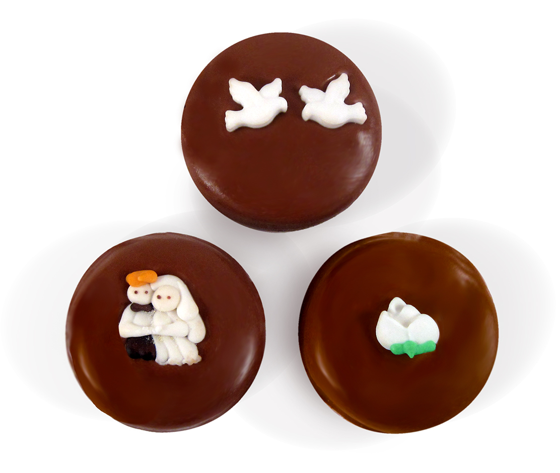 Chocolate Covered Oreo with Decoration Set of 25 THUMBNAIL