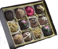Truffles Grande contains each of our excellent, hand-crafted truffles.