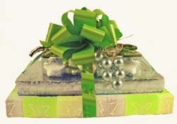 Violet, Silver and Lime Green - WOW gift