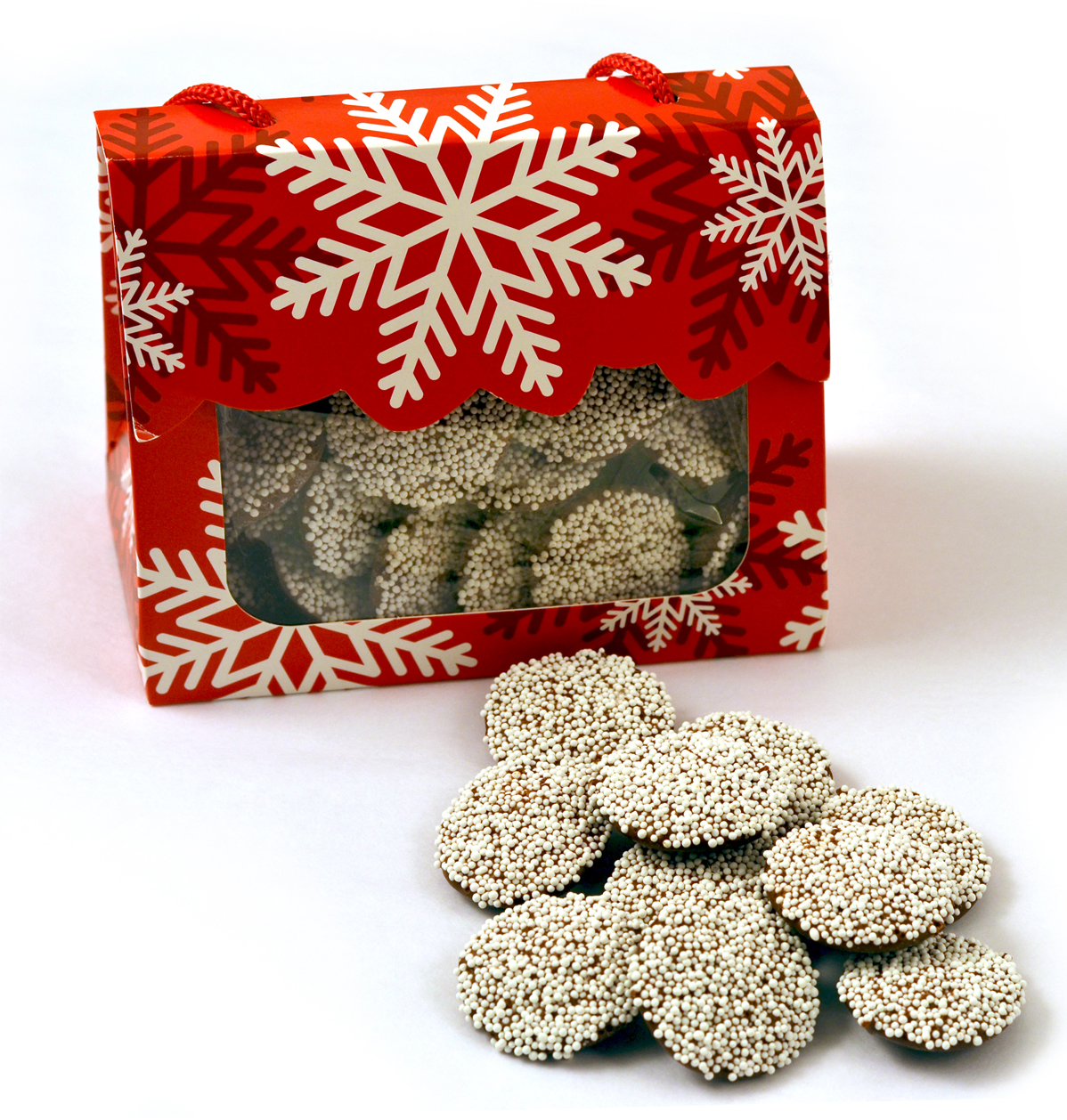 Holiday Tote with Nonpareils MAIN
