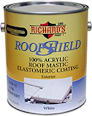 Roof Shield Roof Mastic Elastomeric Coating MAIN