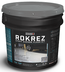 RokRez 2 1/2- Epoxy Garage Floor Kit