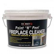 "ChimneyRx Paint ""N"" Peel Fireplace Cleaner_SWATCH"