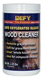 Safely cleans, brightens, and restores the natural beauty exterior wood.
