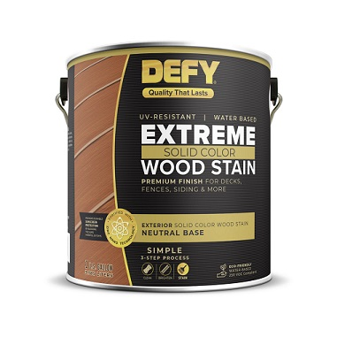 DEFY Extreme Solid Color Wood Stain THUMBNAIL