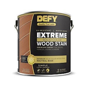 DEFY Extreme Solid Color Wood Stain MAIN
