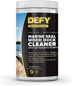Marine Seal Wooden Dock Cleaner MAIN