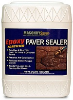 Defy Epoxy Fortified Paver Sealer for Concrete & Masonry Patio Pavers THUMBNAIL