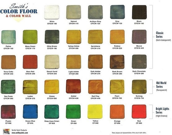 Smith Paints Color Floor Stain Smiths Decorative Concrete