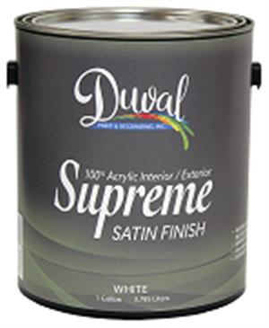 Duval Supreme 100% Acrylic Int/Ext Satin Finish