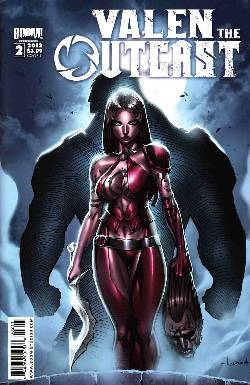 Valen The Outcast #2 Cover B- Garza [Comic] LARGE
