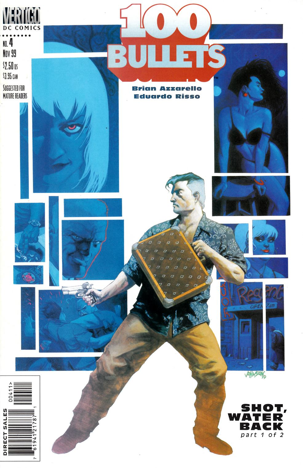 100 Bullets #4 Near Mint Minus (9.2) [DC Comic] THUMBNAIL