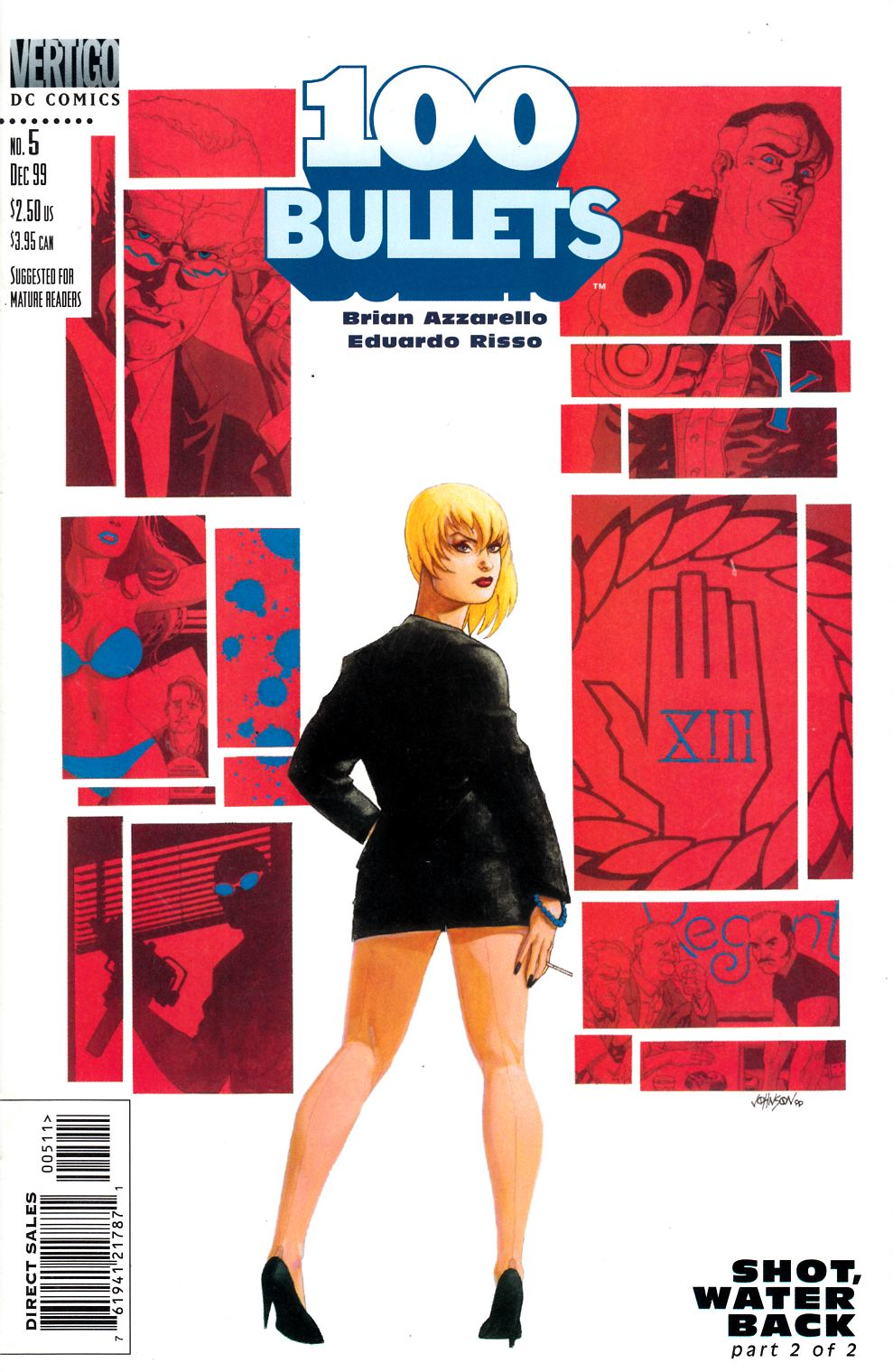 100 Bullets #5 Near Mint Minus (9.2) [DC Comic] THUMBNAIL