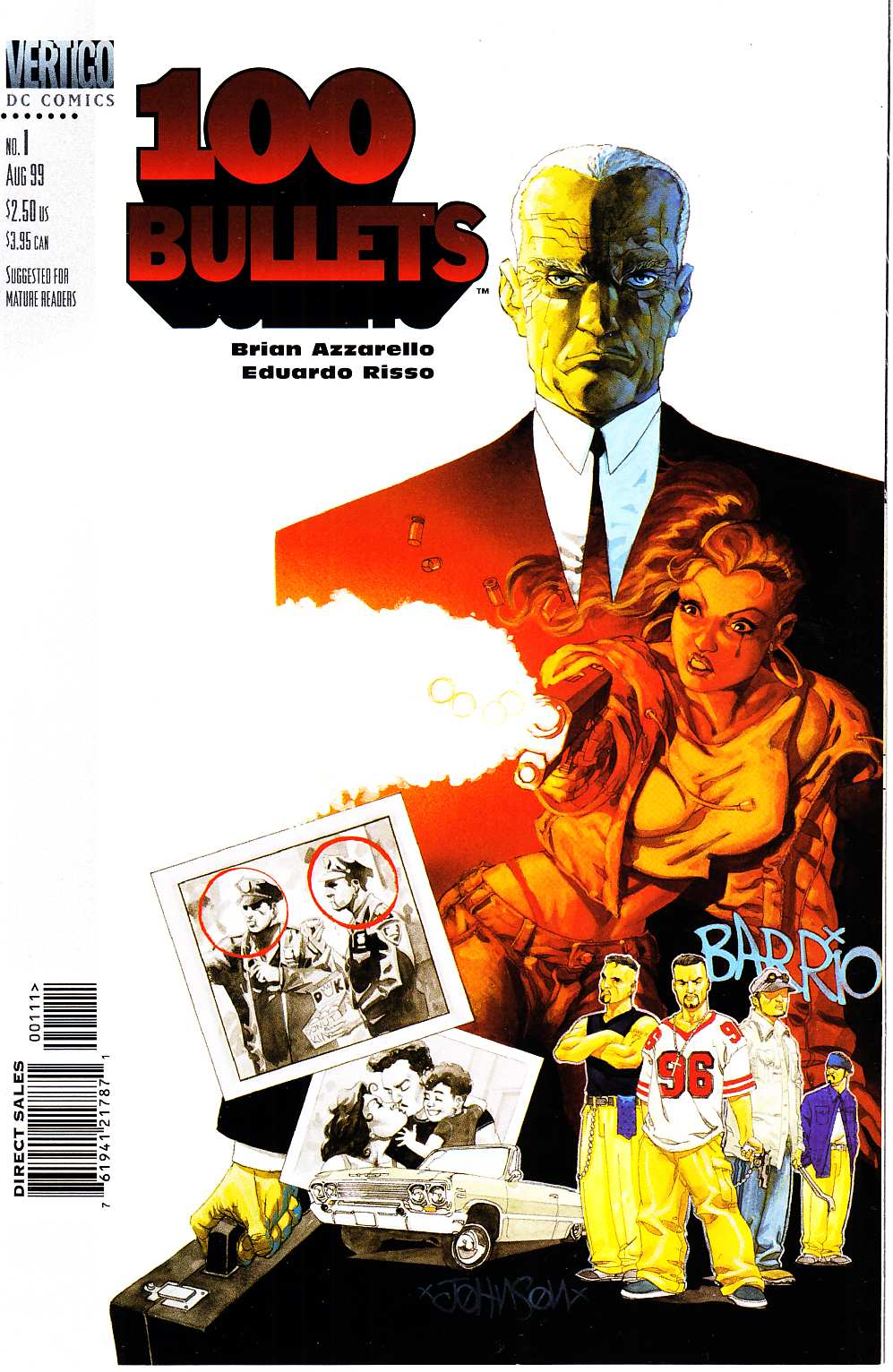 100 Bullets #1 Near Mint (9.4) [DC Comic] THUMBNAIL
