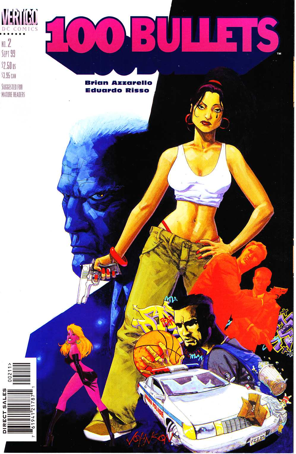 100 Bullets #2 Near Mint (9.4) [DC Comic] THUMBNAIL