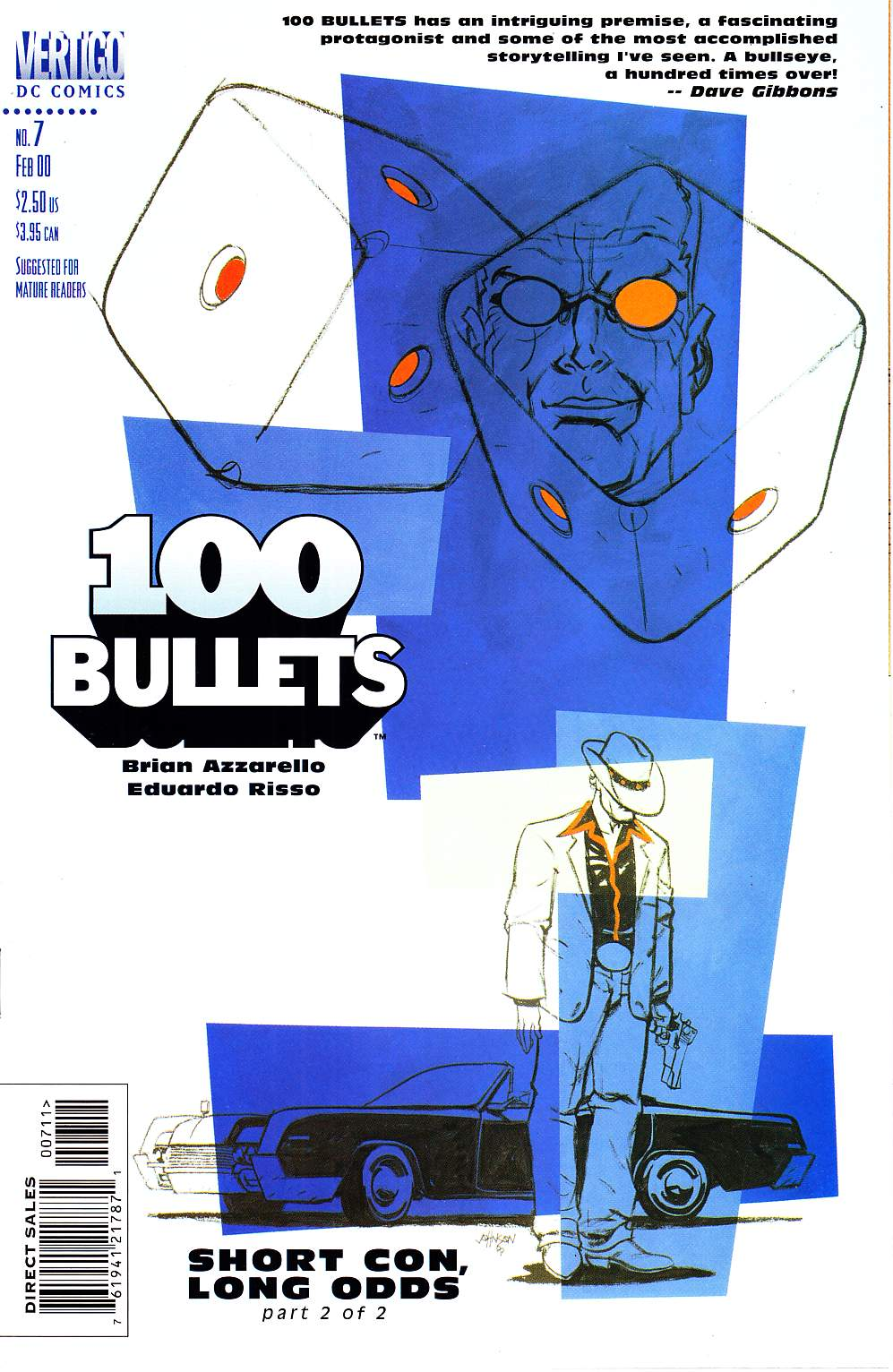 100 Bullets #7 [DC Comic]