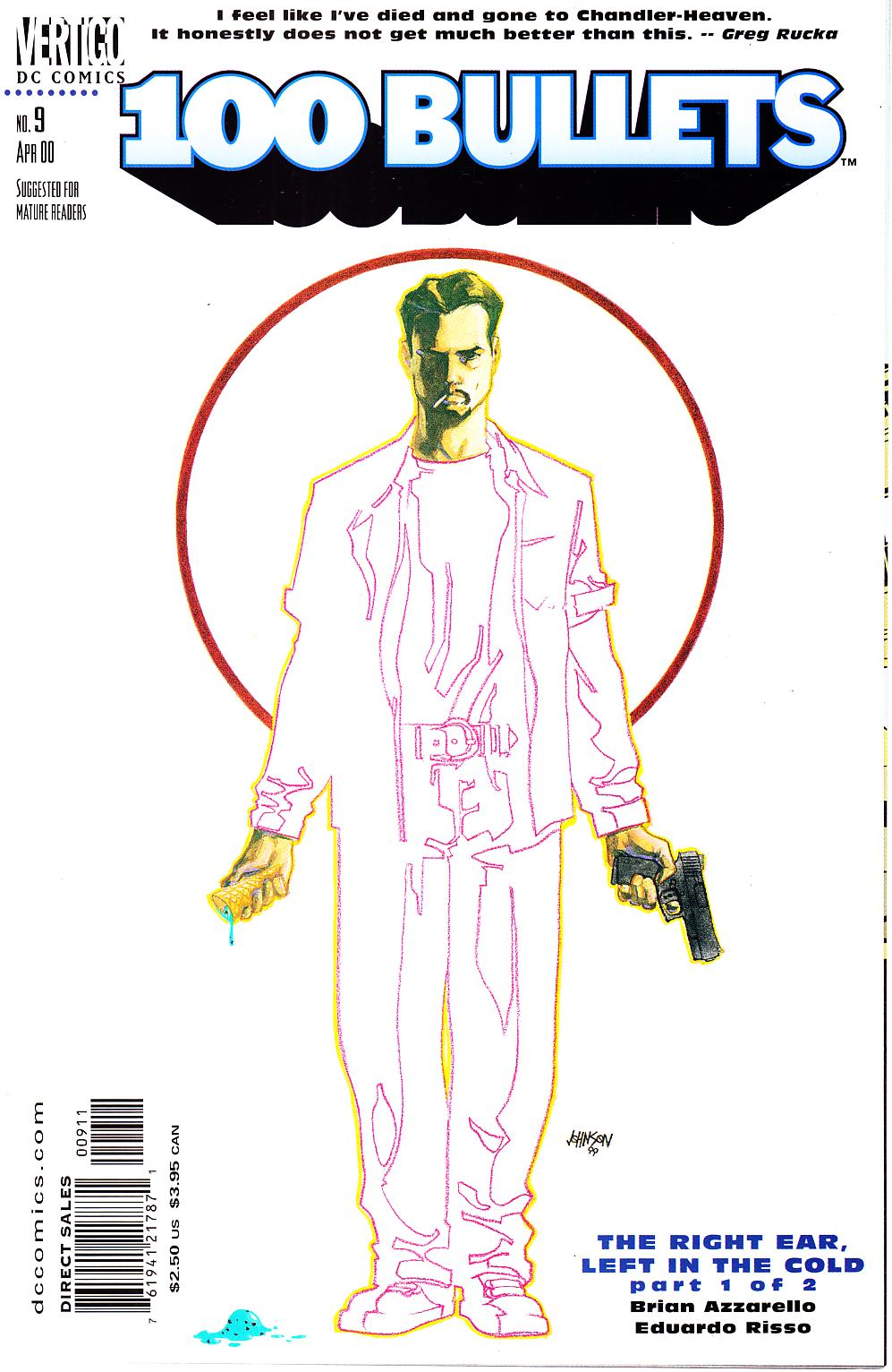 100 Bullets #9 [DC Comic] LARGE