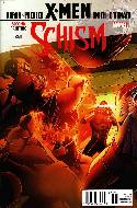 X-Men Schism #1 Second Printing Cyclops Variant Cover [Comic]