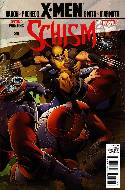 X-Men Schism #1 Second Printing Wolverine Variant Cover [Comic] THUMBNAIL