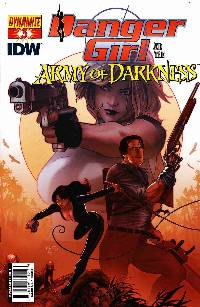 Danger Girl Army Of Darkness #3 Renaud Cover LARGE