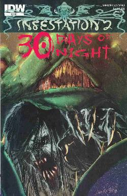 Infestation 2 30 Days Of Night (One Shot) Cover RI- Tentacle Attack [Comic] LARGE