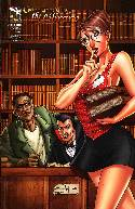 Grimm Fairy Tales The Library #4 Cover B- Qualano [Comic] THUMBNAIL
