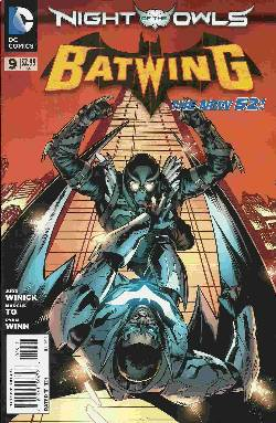 Batwing #9 (Night of the Owls) [DC Comic] LARGE
