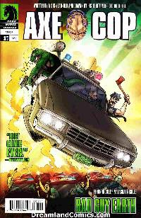 Axe Cop Bad Guy Earth #1 [Dark Horse Comic] LARGE