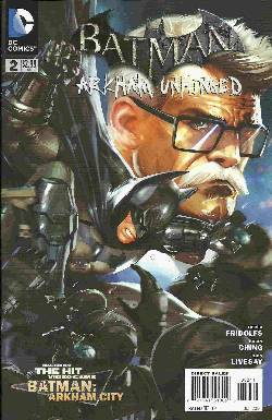 Batman Arkham Unhinged #2 [Comic] LARGE